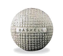 The Haskell Wound Rubber Golf Ball