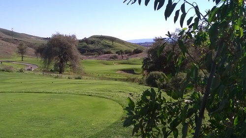 Coyote Creek Golf Course in Morgan Hill California