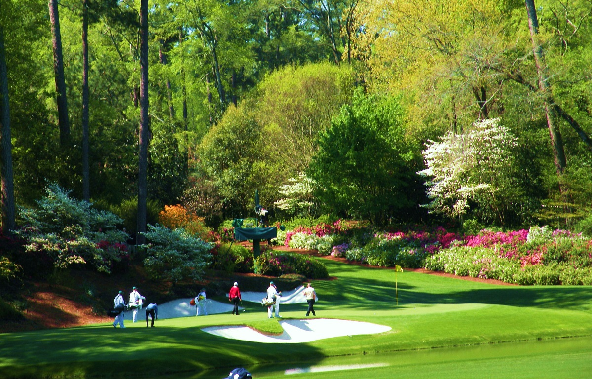 The Master's 12th Hole at Augusta National Golf Club
