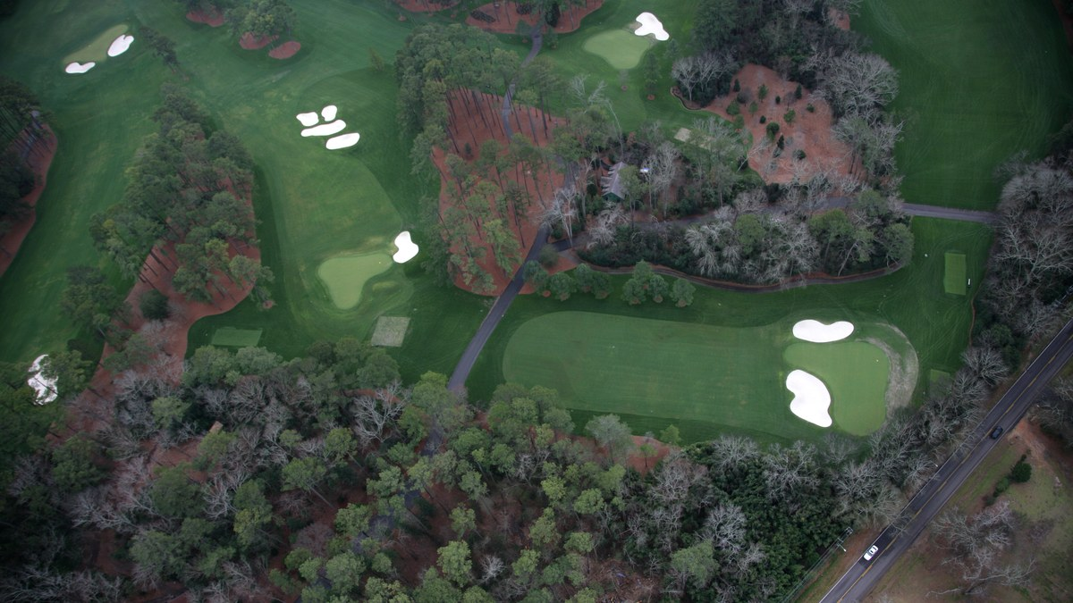 The Master's Augusta National Golf Club - Hole 4