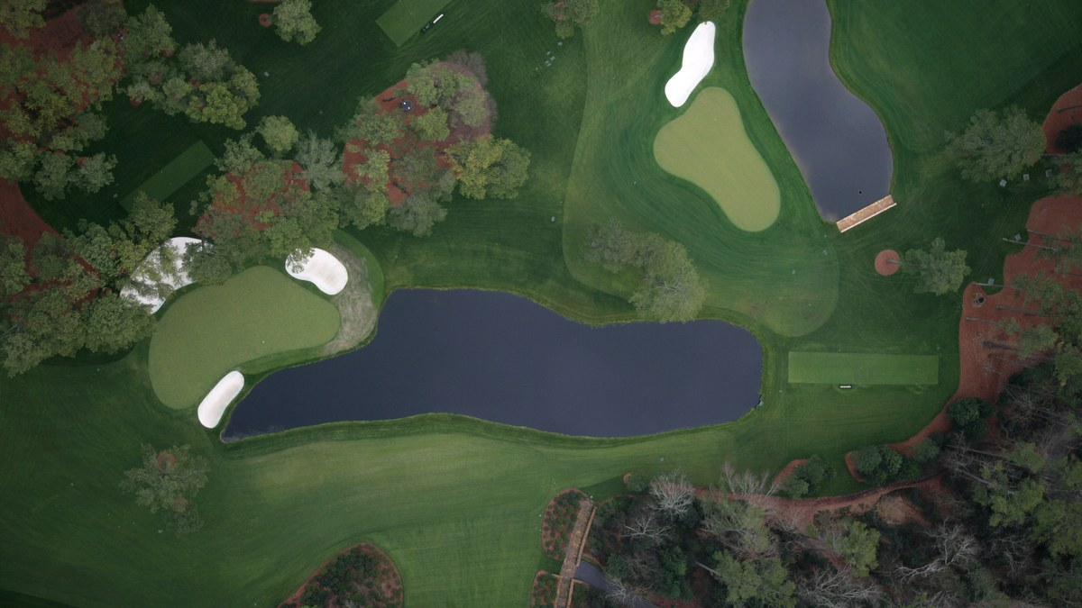 The Master's Augusta National Golf Club - Hole 16