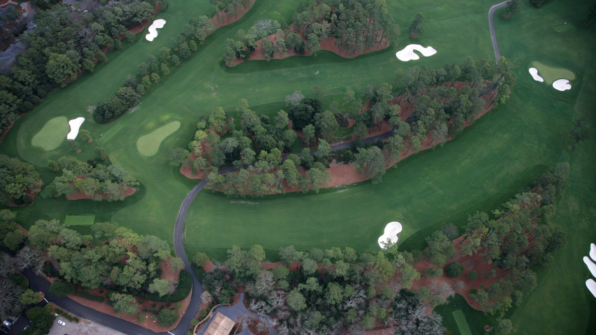 The Master's Augusta National Golf Club - Hole 2