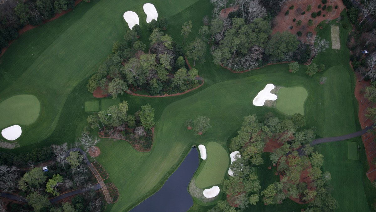 The Master's Augusta National Golf Club - Hole 6