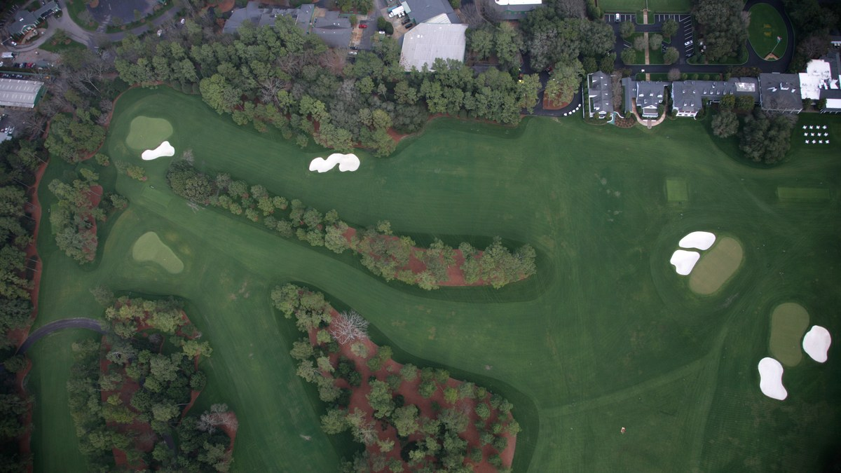 The Master's Augusta National Golf Club - Hole 9