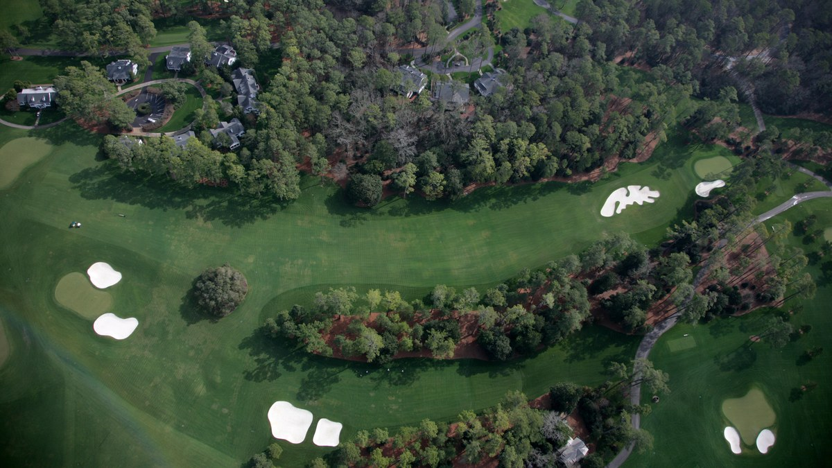 The Master's Augusta National Golf Club - Hole 10