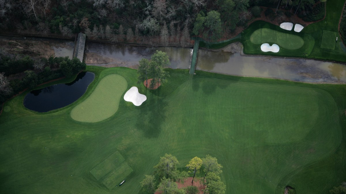 The Master's Augusta National Golf Club - Hole 12