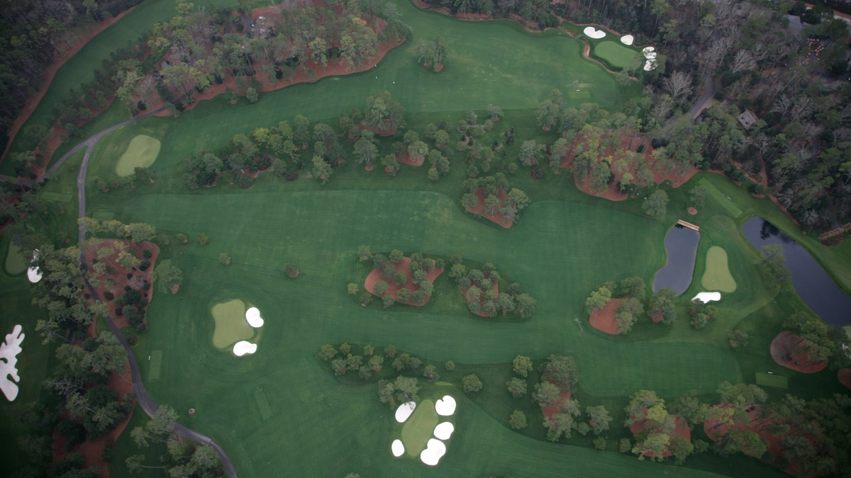 The Master's Augusta National Golf Club - Hole 15