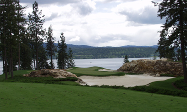 Coeur d'Alene Golf Course in Idaho