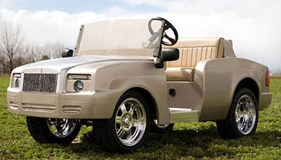 Luxury Golf Cart