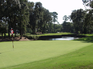 Harbour Town Golf Links at The Sea Pines Resort on Hilton Head Island South Carolina