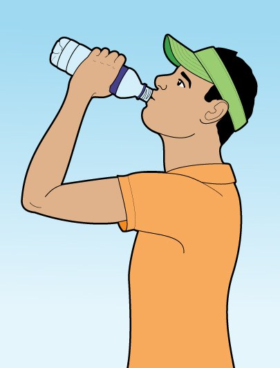 How to Eat and Drink During a Round