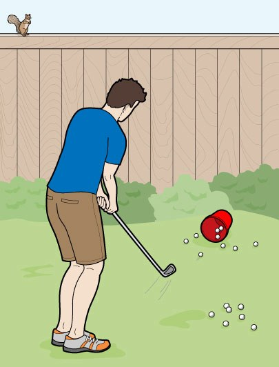How to Improve in Your Backyard