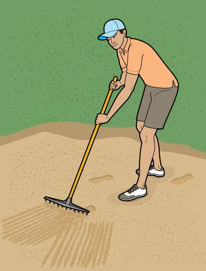 How to Rake a Bunker