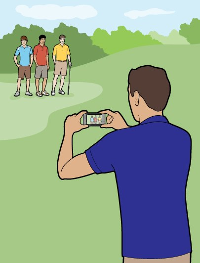 How to Take a Golf Photo