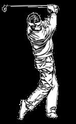 Golf Swing Sketch
