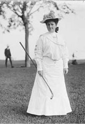 Early Woman Golfer
