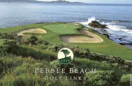 The Pebble Beach Golf Resort on the Monterey Peninsula California