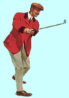 Early Male Golfer