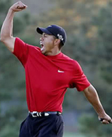 Tiger Woods on Wikipedia
