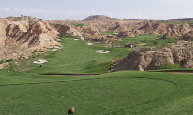 Wolf Creek Golf Course in Mesquite Nevada