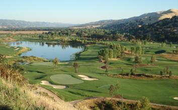Yocha Dehe Golf Course in Brooks California