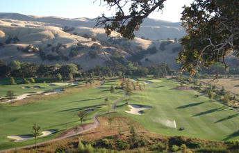 Yocha Dehe Golf Club at The Cache Creek Casino in Brooks California