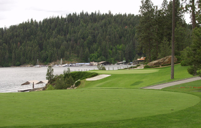 Coeur d'Alene Golf Course in Idaho