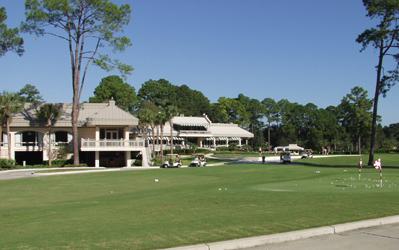 Harbour Town Golf Links at The Sea Pines Resort on Hilton Head Island South Carolina