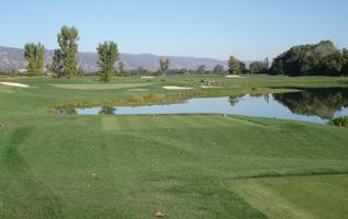 Yocha Dehe Golf Course at The Cache Creek Casino in Brooks California