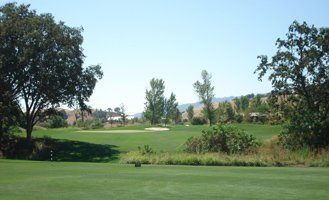Yocha Dehe Golf Course at The Cache Creek Casino in Brooks California